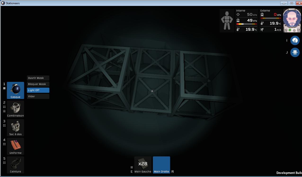 Mise en place d'un SAS d'entrer sortie d'une pièce. 0.structure.de.base